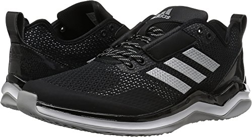 competitive price 0a262 969fc adidas Men's Freak X Carbon Mid Cross Trainer, Black/Metallic Silver/White,  (9.5 M US)