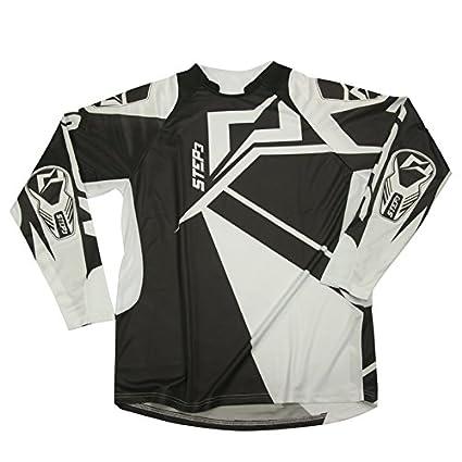 Mots MT2106MN Trial Step 3 Camiseta, Negro, Talla M