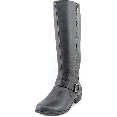 Naturalizer Veracruz Women US 7.5 Black Mid Calf Boot