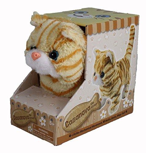 Casanova The Mechanical Kitten - Orange Striped