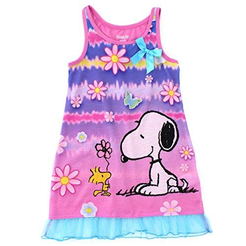 Girls Tank Nightgown - 8