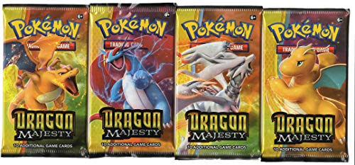 Dragons Majesty Single Booster Pack - Cover Art Varies - 1 Sealed Booster (10 Cards)