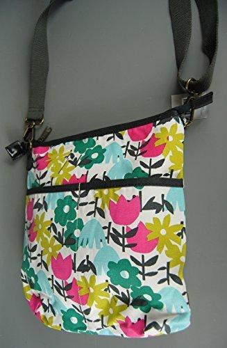 Mustard with Yellow Boho Flower Bag Design Shoulder Seasons Tulip Four Hand Strap Blue Messenger Bag Green Pink qPZx7