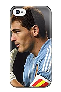 Forever Collectibles Iker Casillas Real Madrid Hard Snap-on Iphone 4/4s Case