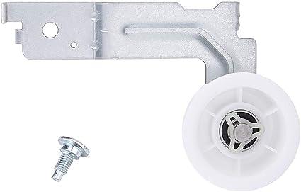 New Bearing Design DC93-00634A Samsung Dryer Idler Pulley Wheel /& Bracket