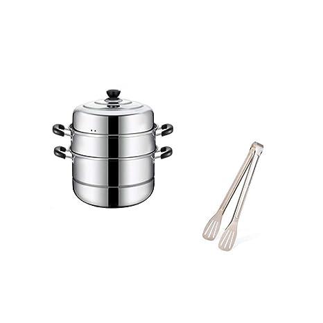 YXHUI Vaporera, cocina casera, vajilla de acero inoxidable ...