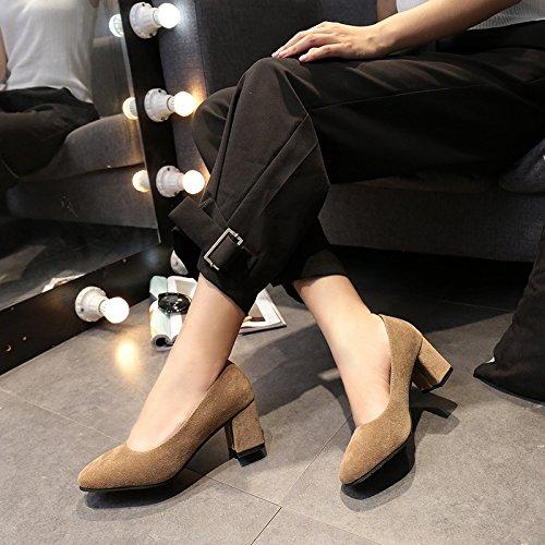 beschuht Mode des Schuhen mit einzelnen und Licht Weibliches Satins Sein Wildes Mutige 39 Frauen Retro TqaUEntw