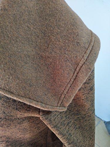 Felpa Giacche Autunno Lunga Inverno Elegante Casual Manica Cappuccio Giubbotto Donna Oversize Giacca Sweatshirt Moca Pullover Alto Obliquo Con Plus Cerniera Collo Outerwear vPPEq4rw