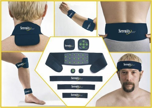 Serenity 2000 | Full Body Magnetic Therapy Set for Pain Relief - Eight-Piece Set, Small/Medium from SERENITY2000