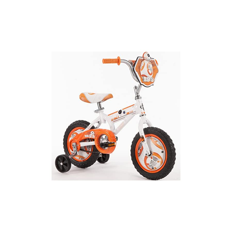 12'' Huffy Star Wars Boys' Bike, Orange/White