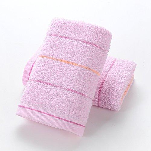 mmynl toallas de algodón puro de lavar cara Para Adultos De grosor suave para limpiar la cara toallas de algodón de parejas 75 x 35 cm: Amazon.es: Hogar