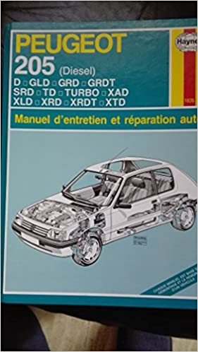 Peugeot 205 Diesel (French service & repair manuals) (French Edition): 9781859600252: Amazon.com: Books