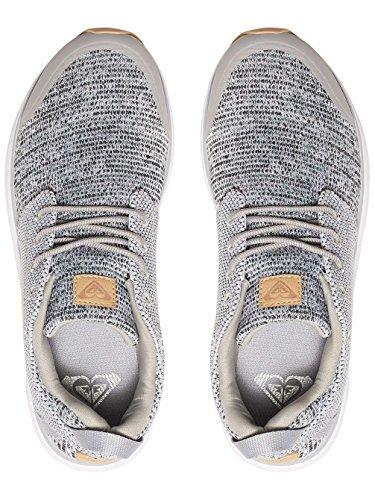 Femme Chaussures Set Roxy Arjs700116 Session Grey qzTxp8pwt
