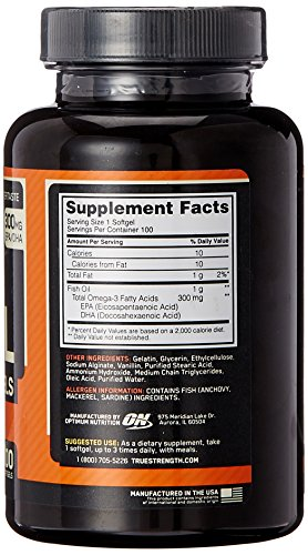 Optimum Oil, 100 softgels