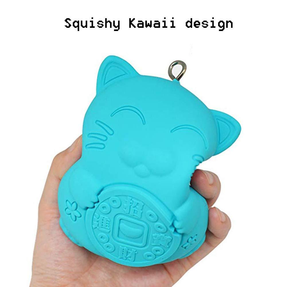 Amazon.com: Squishy Kawaii Monedero – Mini cartera bolsa de ...