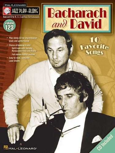 Bacharach and David: Jazz Play-Along Volume 123