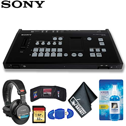 Sony Video Mixer - Sony MCX-500 4-Input Global Production Streaming/Recording Switcher Deluxe Kit