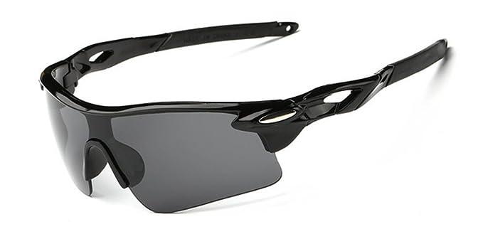 DAUCO Lente polarizada Marco de de Sol Deportivas para la Caja de Protección UV400 Hombre por Aire Libre Gafas de Sol Cuidado de la Visión de Protección: ...