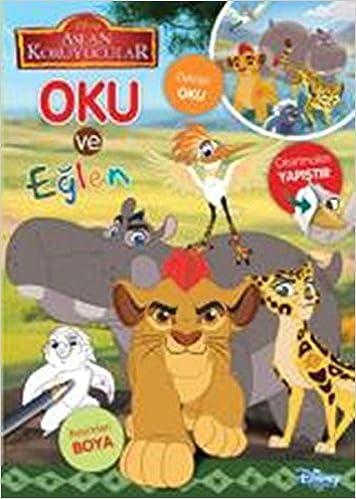 Disney Aslan Koruyucular Oku Ve Eglen Kolektif 9786050934175