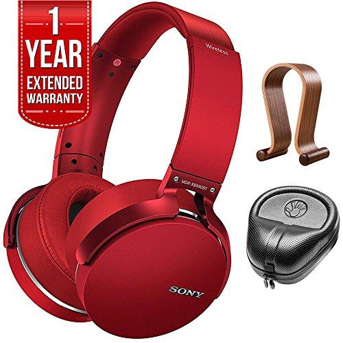 Sony XB950B1 Extra Bass Wireless Headphones with App Control Red 2017 model...