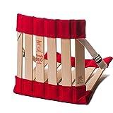 HowdaHUG Petite - Flexible, Sensory Seat for Classroom Seating - Red