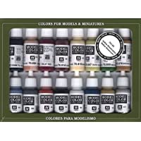 Vallejo Native Americans Paint Set, 17ml