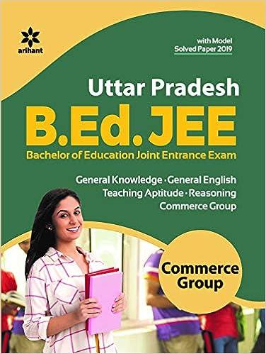 PDF UP Bed Entrance Exam Question Paper बीएड प्रवेश परीक्षा प्रश्न पत्र 2020