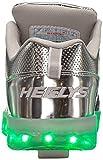 Heelys Girls' Premium Lo Wheeled Heel Shoe,Silver