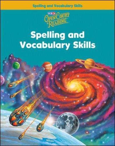 Open Court Reading: Spelling And Vocabulary