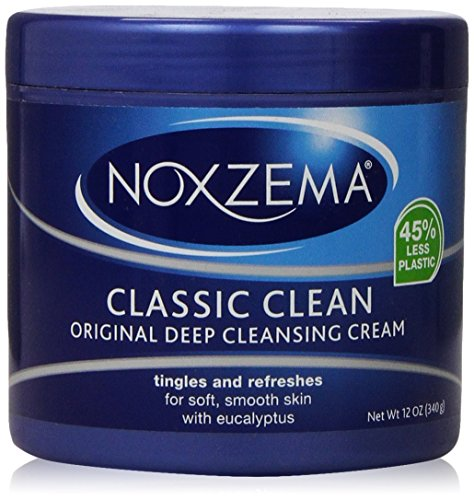 NOXZEMA Deep Cleansing Cream 12 Ounce, 2 - Daily Cleansing Cream