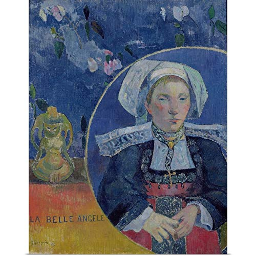 (GREATBIGCANVAS Poster Print Entitled The Beautiful Angel by Paul Gauguin)