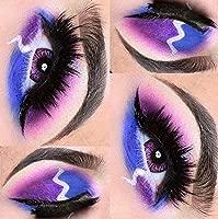 Colors Of The Wind - Lentillas anuales de color sin corrección, distintos colores de fantasía, alice purple(cow39)