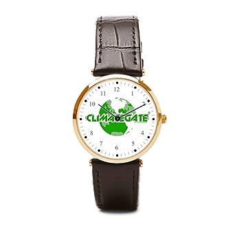 One Army Climategate Inch Leather Watch Wristwatch New World