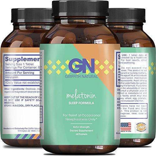 Pure Melatonin Sleep Aid Supplement product image