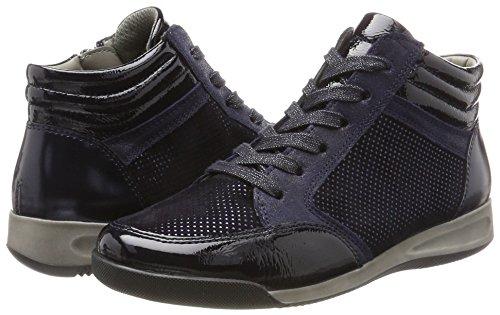Blau 12 Midnight stf blau Ara Hautes Femme Rom 44465 Baskets T0nEwq