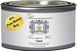 Renaissance Furniture Wax 13.5oz - Clear Wax