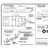 6' x 14' Lowboy Trailer Plans Blueprints, Model