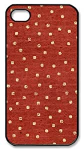 iphone 4S sale cases patterns abstract parallax red 70 PC Black for Apple iPhone 4/4S