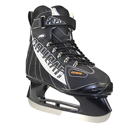(Men's Cougar Soft Boot Hockey Skate)