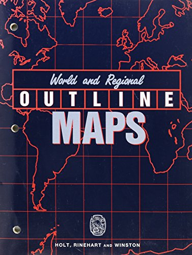 World and Regional Outline Maps: Copy Masters