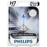 Philips H7 CrystalVision Ultra Upgrade Headlight Bulb, 1 Pack