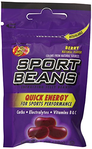 Beans Sport Berry (Jelly Belly Sport Beans, Berry Energizing Jelly Beans, 1-Ounce Bags (Pack of 24))