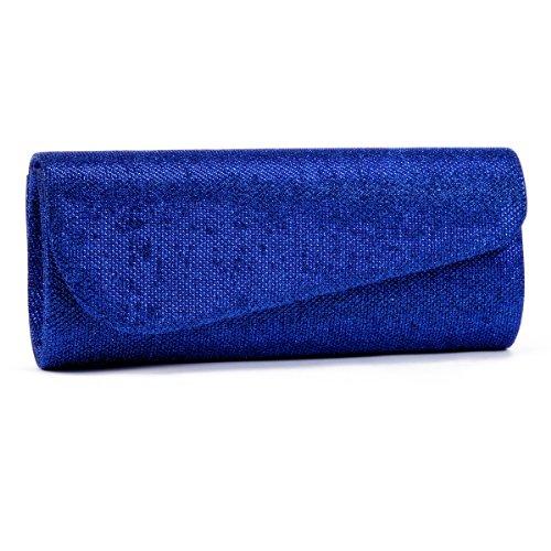 Damara Womens Oblique Glitter Handbags