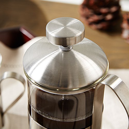 French Press Coffee Plunger Pot For Both And Tea 3pcs Set