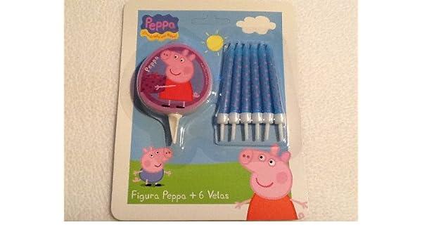 Peppa Pig - Fiesta de cumpleaños velas (diseño): Amazon.es ...