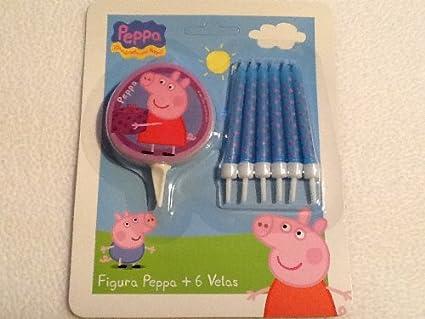 Amazon.com: Peppa Pig – Fiesta de cumpleaños velas (diseño ...