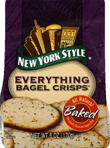 New York Style Everything Bagel Chips, 7.2 Ounce - 12 per case.