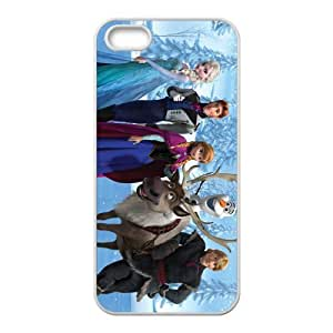 Frozen Princess Elsa Anna Kristoff Olaf Sven Hans Cell Phone Case for Iphone 5s