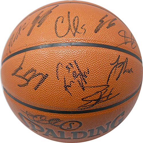 New York Knicks 2017-18 Team Signed Basketball - Steiner Sports Certified - Autographed Basketballs - Knicks Autographed Basketball