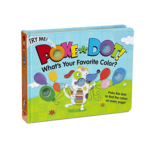 (Melissa & Doug Children's Book - Poke-a-Dot: What's Your Favorite Color (Board Book with Buttons to Pop) )